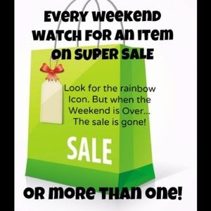 Other - 🌈🌈 weekend super sale!!!🌈🌈